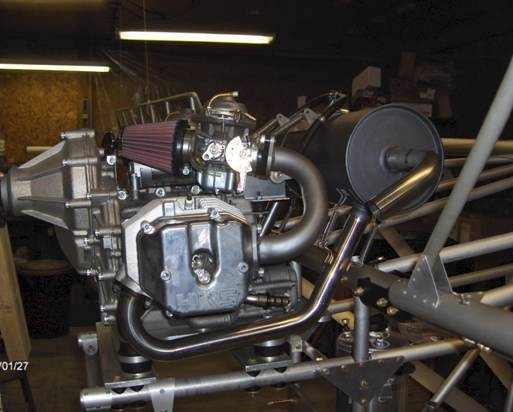 CGS Hawk 700E engine