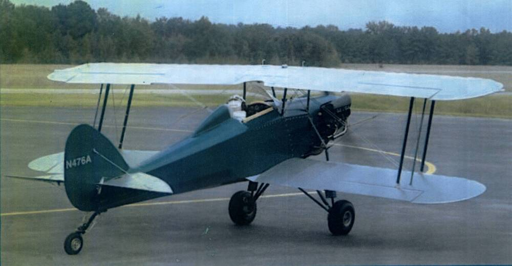 Glenn Bridges Skyote Biplane