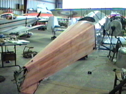 Ralph's covered fuselage