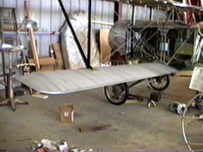 Subwing mounted on the Nieuport