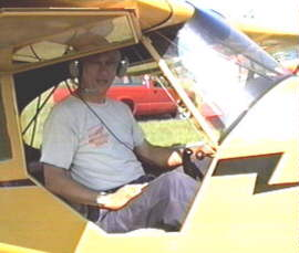 Rich with his plane