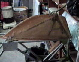 Ray's tailwheel assembly with cover
